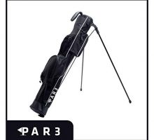 Par3 Golf [New] Lightweight Sunday Golf Bag with Stand  Easy to Carry & Durable Pitch n Putt Golf Bag  Golf Stand Bag for The Driving Range Par 3 & Executive Courses  315″ Tall